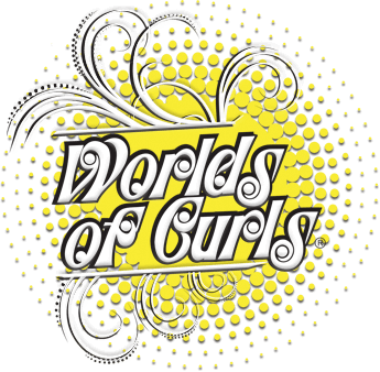 Worlds of Curls Logo